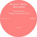 VARIOUS - Happy Compilation Vol 8 (Front Cover)