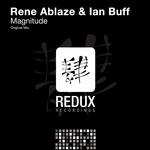 ABLAZE, Rene/IAN BUFF - Magnitude (Front Cover)