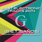 VARIOUS - Best Electronic Tracks 2014 (Front Cover)
