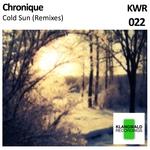 CHRONIQUE - Cold Sun (Remixes) (Front Cover)
