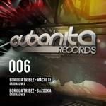 BORIQUA TRIBEZ - Machete/Bazooka (Front Cover)