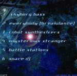SKYBORG - From Bass To Space (Back Cover)