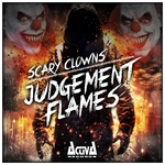 SCARY CLOWNS - Judgement Flames (Front Cover)