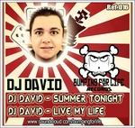 DJ DAVID - Summer Tonight (Front Cover)