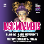 PLAYBOYZ/FREESTYLE MANIACS - Basic Movements: Freestyle Xperience 2014 (Front Cover)