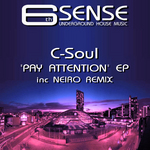 C SOUL - Pay Attention EP (Front Cover)