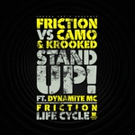 FRICTION - Stand Up/Life Cycle (Front Cover)