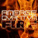 AMFREE/QVANTVM - Fire (remixes) (Front Cover)