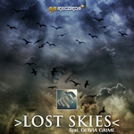 ROB HANDLEY, Martin feat OLIVIA GRIME - Lost Skies (Front Cover)