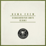 CREW, Numa feat DUB FX - Bass Hater (Back Cover)
