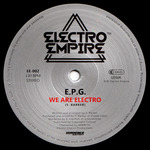 EPG - We Are Electro (Front Cover)