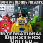 VARIOUS - Boom One Records Presents International Dubsters United Vol 1 (Front Cover)