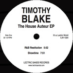 BLAKE, Timothy - The House Auteur EP (Front Cover)