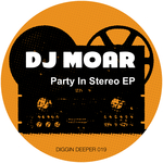 DJ MOAR - Party In Stereo (Front Cover)
