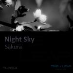 NIGHT SKY - Sakura (Front Cover)