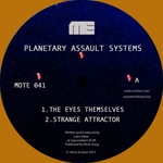 PLANETARY ASSAULT SYSTEMS - The Eyes Themselves (Front Cover)