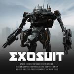 Exosuit - Hybrid Exoskeleton Sound Effects (Sample Pack WAV/AIFF)