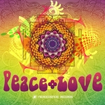 VARIOUS - Peace & Love (Front Cover)