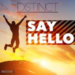 DISTINCT - Say Hello (Front Cover)