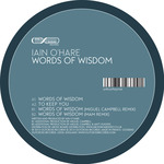 O'HARE, Iain - Words Of Wisdom (Front Cover)