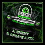PROPAZ/ACK THE RIPPER - Enemy (Front Cover)