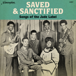 VARIOUS - Saved & Sanctified (Songs Of The Jade Label) (Front Cover)