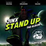 JINX feat REGINA, JUNGLE DRUMMER & DAZEE - Stand Up (Front Cover)