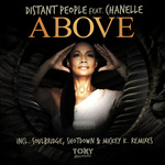 DISTANT PEOPLE feat CHANELLE - Above (Front Cover)