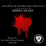 MUSEEN, David/CARLO RUNIA feat PHAELL PIERONI - Simple Heart (Front Cover)