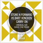 STORE N FORWARD vs BART VONCKEN - Carry On (Front Cover)