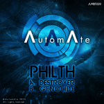 PHILTH - Destroyer/Genocide (Front Cover)