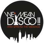 WE MEAN DISCO - Lost In Music (Front Cover)