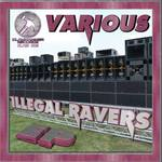 VARIOUS - Illegal Ravers EP (Front Cover)