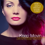VARIOUS - Keep Movin: Late Nite House Grooves Vol 11 (Front Cover)