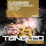 CLOUDRIVER - Distorted World/Find You (Front Cover)