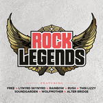 VARIOUS - Rock Legends (Front Cover)