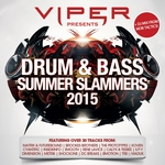 MOB TACTICS/VARIOUS - Viper Presents: Drum & Bass Slammers 2015 (Front Cover)