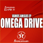 OMEGA DRIVE - Vamos Amigos EP (Front Cover)