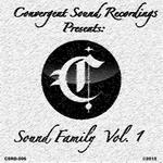 VARIOUS - Sound Family Vol 1 (Explicit) (Front Cover)