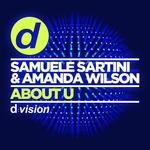 SARTINI, Samuele/AMANDA WILSON - About U (Front Cover)