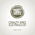 CRAZY ERG - Electrifield EP (Front Cover)