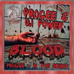 PROGEE/DJ POWER - Blood/In The Drums (Front Cover)