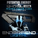 POTENTIAL ENERGY/D RAILED - Nows Your Time (Front Cover)