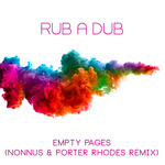 RUB A DUB - Empty Pages (Front Cover)