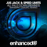 JUS JACK/SPEED LIMITS - All Falls Down (remixes) (Front Cover)