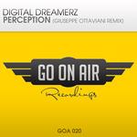 DIGITAL DREAMERZ - Perception (Front Cover)