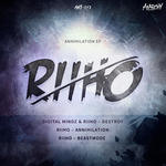 RIIHO - Annihilation EP (Front Cover)