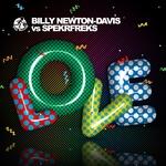 NEWTON DAVIS, Billy vs SPEKRFREKS - Love (Front Cover)