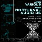 HAGANE SHIZUKA/REBORN/VERJO/S&D - Nocturnal Audio 05 (Front Cover)