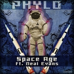 PHYLO feat NEAL EVANS - Space Age (Front Cover)